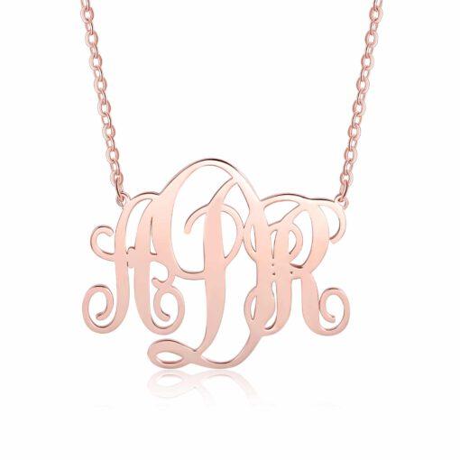 3 Initials Necklace