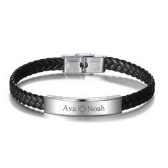Couple Leather Bracelet