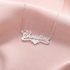 Couple Pendant With Name