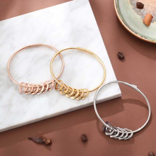 Custom Mother Of 1-15 Bracelet