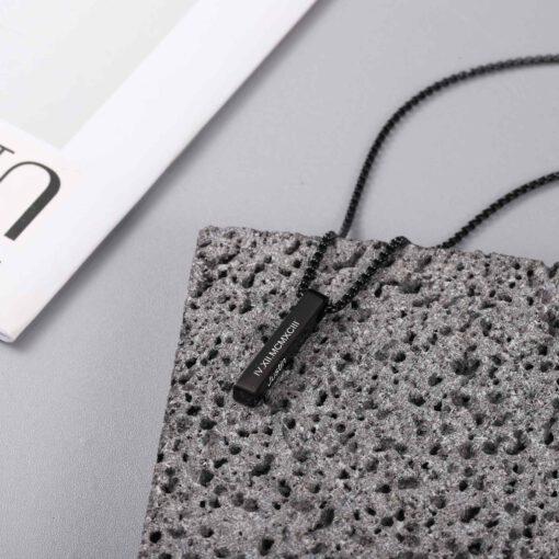 Custom Name Necklace for Men