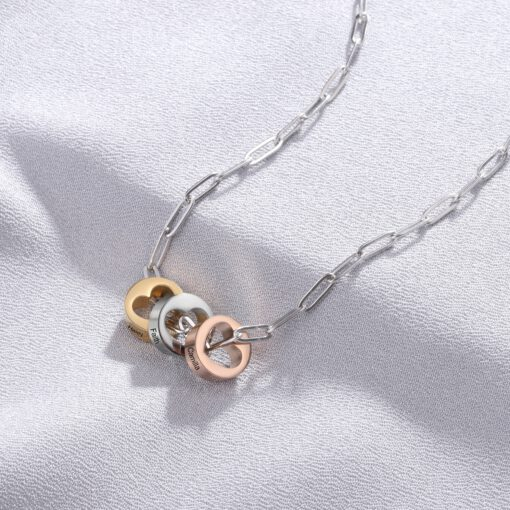 Custom Paperclip Jewelry - Name Jewelry for Women