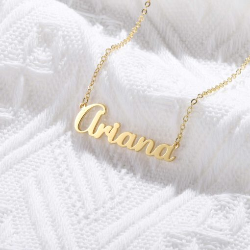 Customized Name Pendant