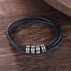 Dad Bracelet with Names