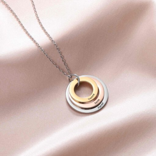 Engraved Necklace For Mom