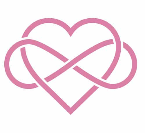 Heart Infinity Symbol