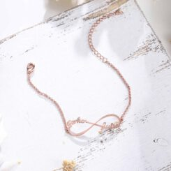 Infinity Bracelet With 2 Names