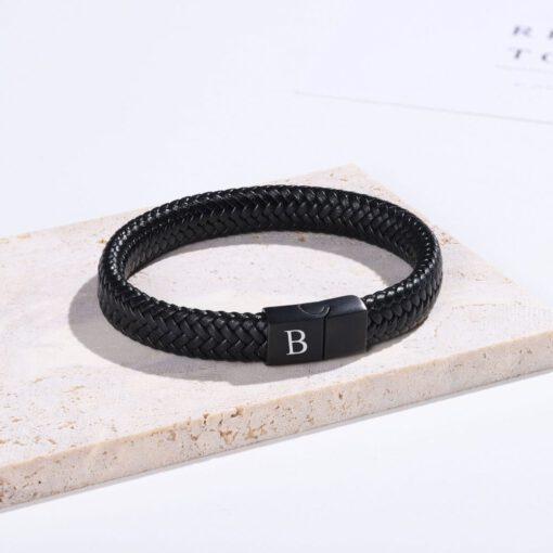 Initial Bracelet For Men