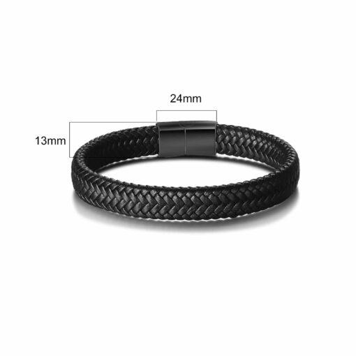 Initial Bracelet For Men Size Material