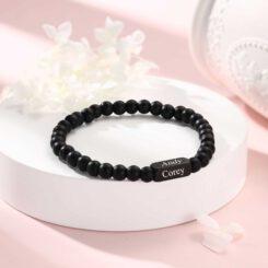 Mens Personalised Bracelet