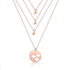 Mom Daughter Jewelry Rose Gold