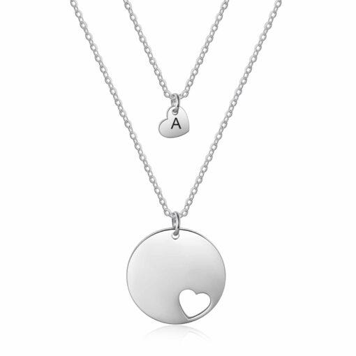 Mom Daughter Jewelry Silver