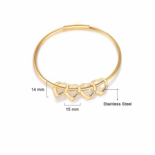 Mother Bracelet Size Materials Gold