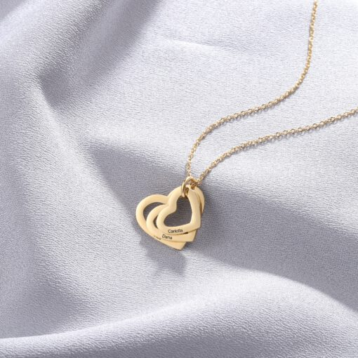 Mother Day Necklace Present In Gold