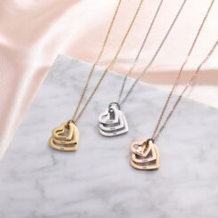 Mother Necklace With Engraved Kids