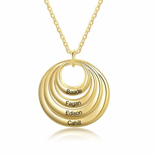 Personalized Gifts For Grandma Gold