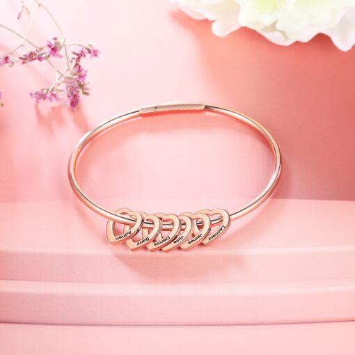 Personalized Mom Bracelet