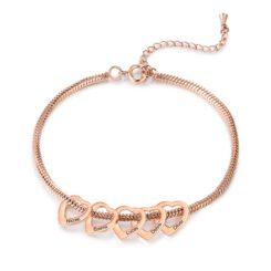 Rose Gold Custom Mother Bracelet 1-15 Names