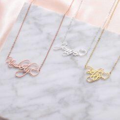 Script Name Necklace