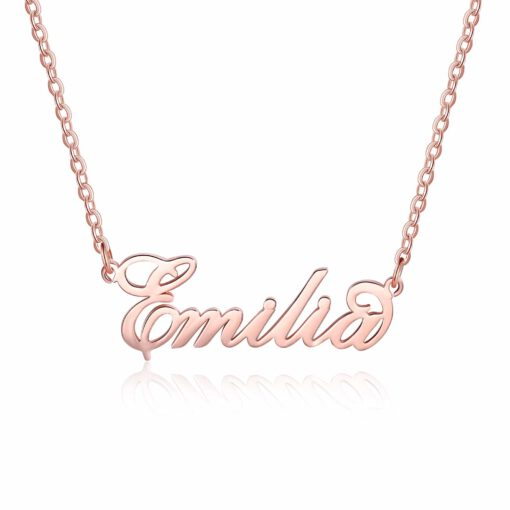Sex And the City Carrie Necklace Rose Gold