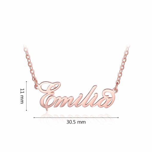 Sex And the City Name Necklace