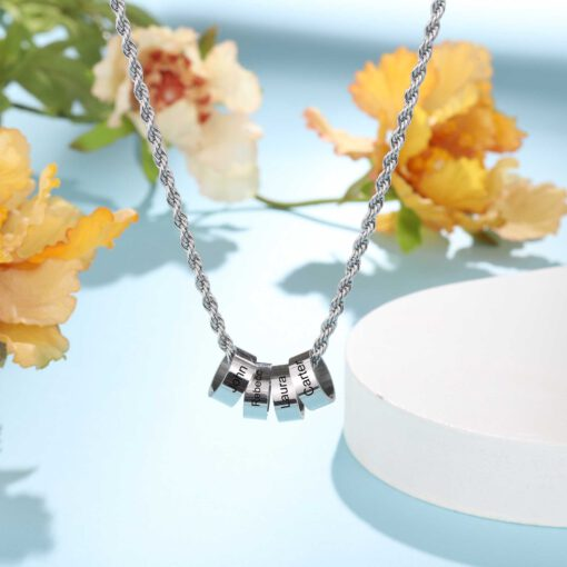 Silver Custom Grandma Necklace