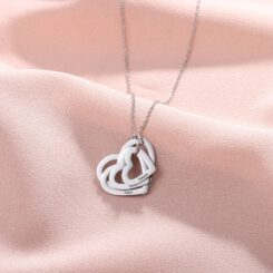 Silver Mother Of 4 Necklace Gift For Mom