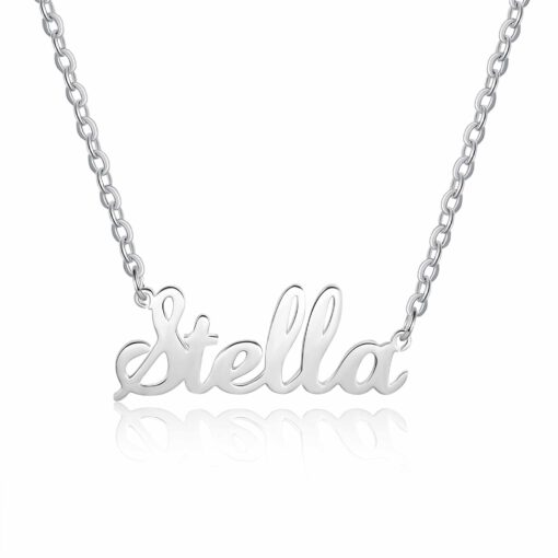 Sterling Silver Name Pendant