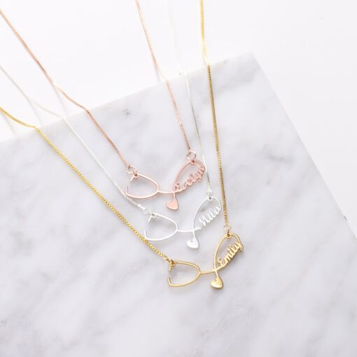 Stethoscope Jewelry Personalized Stethoscope Necklaces